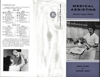 Medical Assisting, brochure