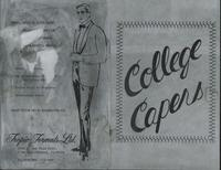 Third Annual College Capers, pamphlet