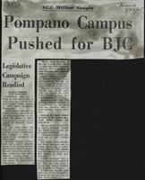 Pompano Campus Pushed For BJC