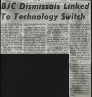 BJC Dismissals Linked To Technology Switch