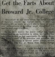 Get The Facts About Broward Jr. College