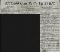 $225,000 Gym To Go Up At BJC