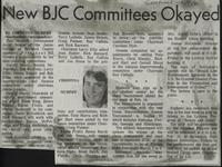New BJC Committees Okayed