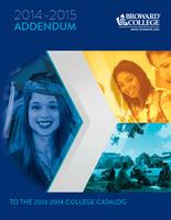 2014-2015 Broward College Catalog Addendum to the 2013-2014 College Catalog
