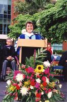 Author and screenwriter Rita Mae Brown, a member of the Class of 1965