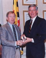 Two-term Maryland governor Parris Glendening was named one the AACC's Outstanding Alumni Award