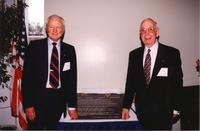 In November 1997, the BCC Foundation honored former United States Sen. George Smathers, left, and Rep. Paul Rogers