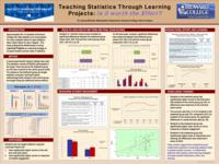 Teaching Statistics Through Learning Projects: Is it worth the Effort?  Results.
