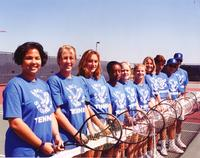 After many top-four finishes, the women's tennis team won the 1996 National Junior College Atheletic Association Championship